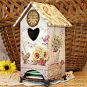 Для дома и интерьера ручной работы. Ярмарка Мастеров - ручная работа La Maison-2, Чайный домик. Handmade.