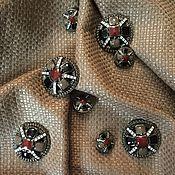Пуговицы ручной работы. Ярмарка Мастеров - ручная работа ПРOДАНО Пуговица в стиле Chanel 25мм. Handmade.