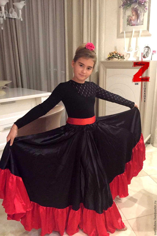 Купить юбку фламенко в москве