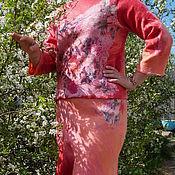 """Костюмы ручной работы. Ярмарка Мастеров - ручная работа Костюм валяный """"Весна"""". Handmade."""