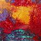 Абстракция ручной работы. Абстрактная живопись. Lover.. Анна. Интернет-магазин Ярмарка Мастеров. Розовый, движение, подарок, страсть