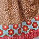 Одежда для девочек, ручной работы. Платье Вересковый мед с рукавом микровельвет Хлопок шнуровка оборки. Camilla Reynolds. Ярмарка Мастеров.