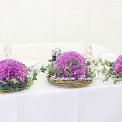 Свадебный салон ручной работы. Ярмарка Мастеров - ручная работа Сиреневая свадьба. Handmade.