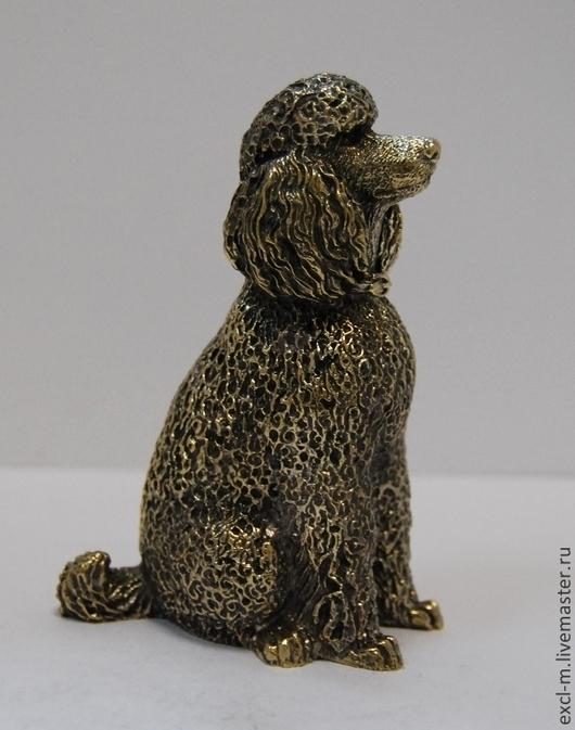 """Миниатюра ручной работы. Ярмарка Мастеров - ручная работа. Купить Статуэтка """"Пудель"""". Handmade. Пудель, год собаки, литая миниатюра"""