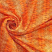 Ткани ручной работы. Ярмарка Мастеров - ручная работа Ликвидация! Трикотаж Missoni морковного цвета. Handmade.