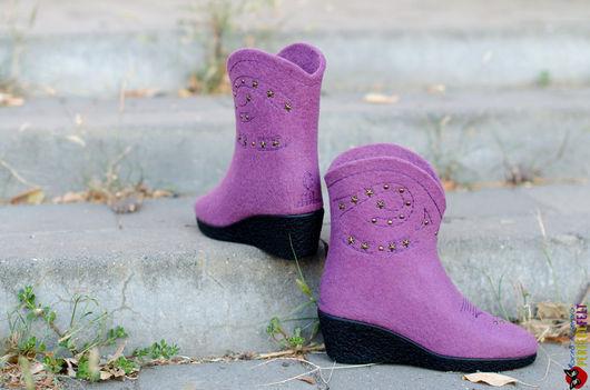 Сапожки женские `Cowgirl Boots`