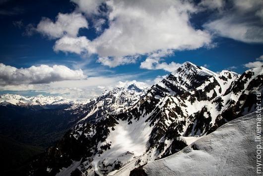 Фотокартины ручной работы. Ярмарка Мастеров - ручная работа. Купить Лучше гор могут быть только горы.... Handmade. Кавказ, горы, скалы