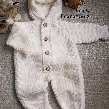 Одежда ручной работы. Ярмарка Мастеров - ручная работа Комбинезон вязаный. Handmade.