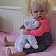 Куклы-младенцы и reborn ручной работы. Кукла реборн - ТИППИ. Мельниченко Регина (Maria70). Ярмарка Мастеров. Авторская кукла, Стеклогранулят