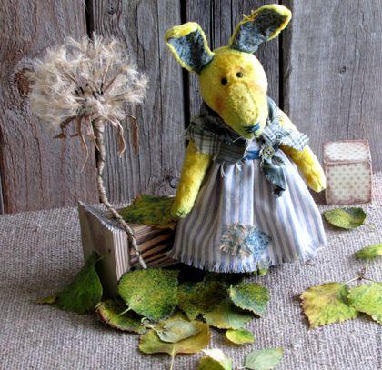 Мишки Тедди ручной работы. Ярмарка Мастеров - ручная работа. Купить Дуня и Одуванчик. Handmade. Комбинированный, плюш винтажный