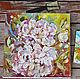 Июльское утро - картина с пионами, Картины, Москва,  Фото №1