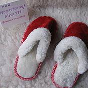 Обувь ручной работы handmade. Livemaster - original item Women`s suede Slippers. Handmade.