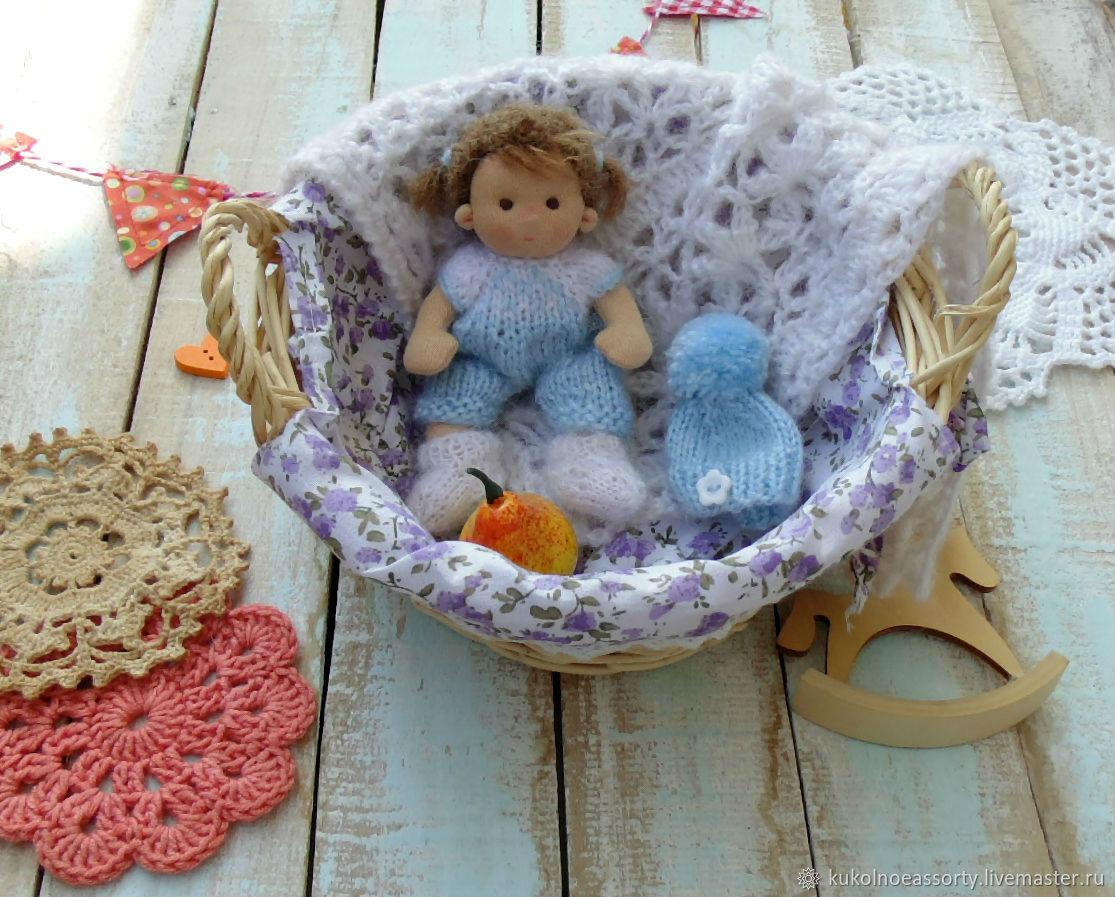 Малышка 10 см Вальдорфская кукла, Вальдорфская игрушка, Екатеринбург, Фото №1