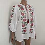 """Одежда ручной работы. Ярмарка Мастеров - ручная работа """"нежность"""" (цветная роза). Handmade."""