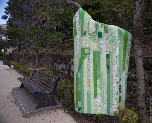 """Пледы и одеяла ручной работы. Ярмарка Мастеров - ручная работа. Купить """"Лето"""" детское лоскутное одеяло. Handmade. Квилт"""