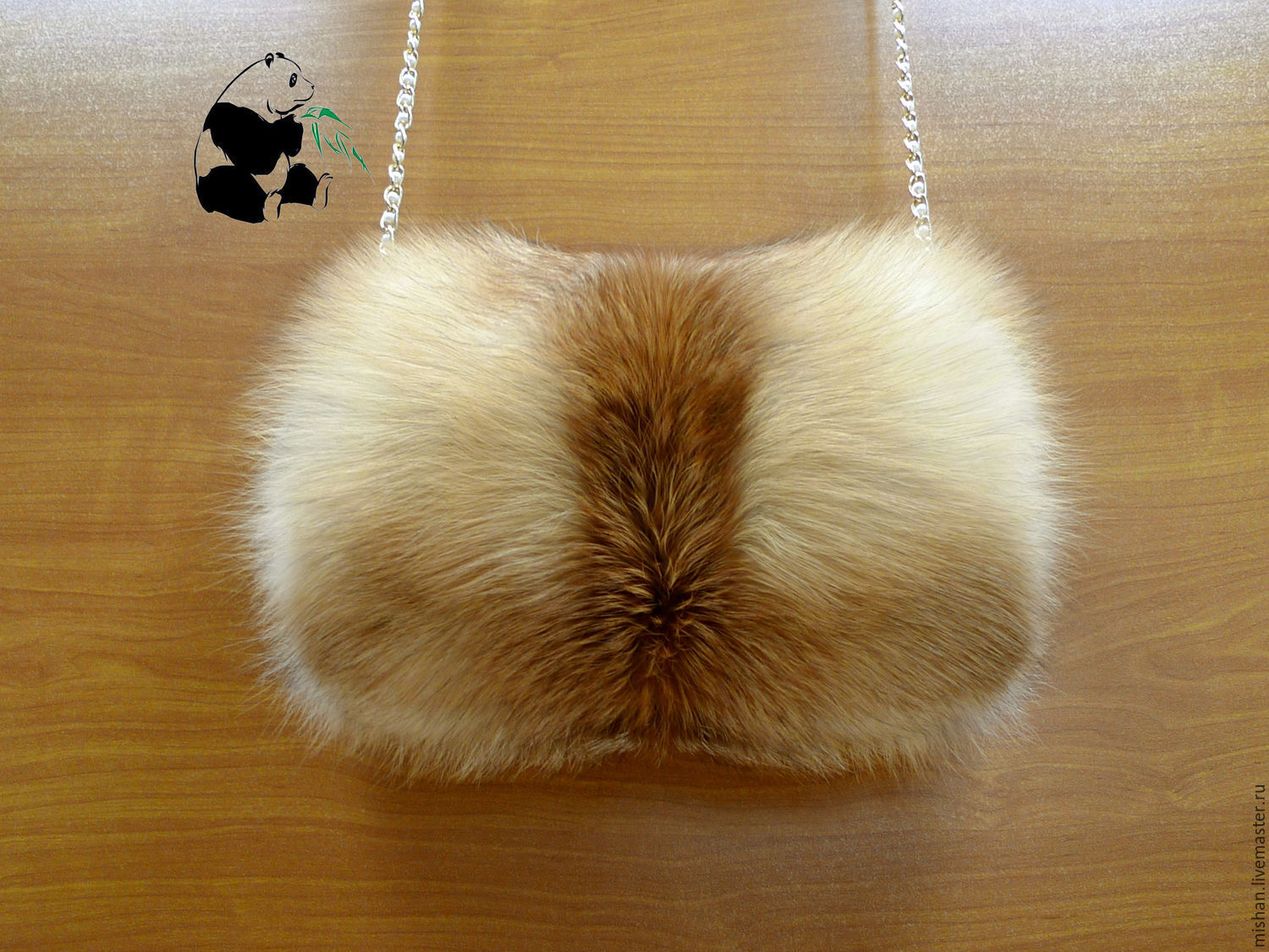 Mittens & Gloves handmade. Livemaster - handmade. Buy Fur clutch bag from the fur of the red Fox. Women's fashion accessory.