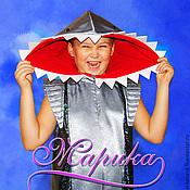 """Работы для детей, ручной работы. Ярмарка Мастеров - ручная работа карнавальный костюм"""" Акула"""". Handmade."""