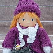 Вальдорфская кукла Мариша, 36 см.