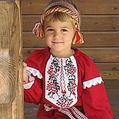 Русский стиль handmade. Livemaster - original item Folk costume Kubanochka. Handmade.