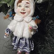 Куклы и игрушки ручной работы. Ярмарка Мастеров - ручная работа Новогодние детки проданы. Handmade.