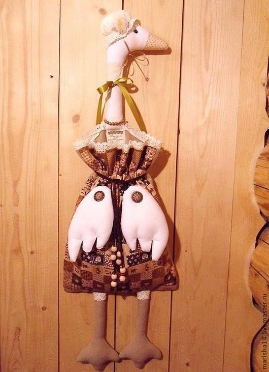 Куклы Тильды ручной работы. Ярмарка Мастеров - ручная работа. Купить Гусыня-пакетница (Жозефина Степановна). Handmade. Гусыня-пакетница