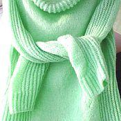 """Одежда ручной работы. Ярмарка Мастеров - ручная работа Ручная работа свитерок """"Ментол"""". Handmade."""