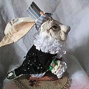 Мягкие игрушки ручной работы. Ярмарка Мастеров - ручная работа Белый Кролик. Handmade.