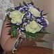 Букеты ручной работы. Ярмарка Мастеров - ручная работа. Купить букет невесты живые цветы. Handmade. Букет цветов, роза