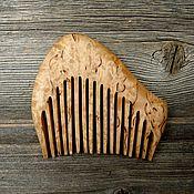 Сувениры и подарки handmade. Livemaster - original item The comb is made of Karelian birch. Handmade.