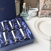 Подарки к праздникам handmade. Livemaster - original item A set of large glasses