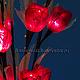 Цветок-светильник Роза Красная
