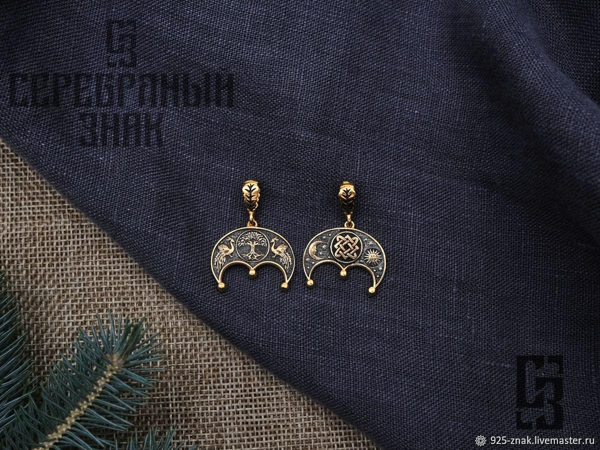 Lunnitsa Star Frets Ygdrassil. Gilding 999 and 925 silver art.Three million eleven thousand six hund, Pendants, St. Petersburg,  Фото №1