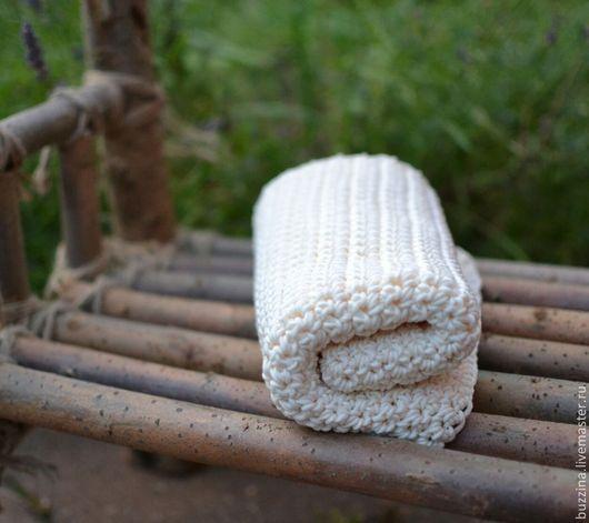 Пледы и одеяла ручной работы. Ярмарка Мастеров - ручная работа. Купить Плед для фотосессии новорожденных из хлопка реквизит для фотосессии. Handmade.