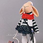 """Куклы и игрушки ручной работы. Ярмарка Мастеров - ручная работа символ 2015 года """"ДУША МОРЯ """". Handmade."""