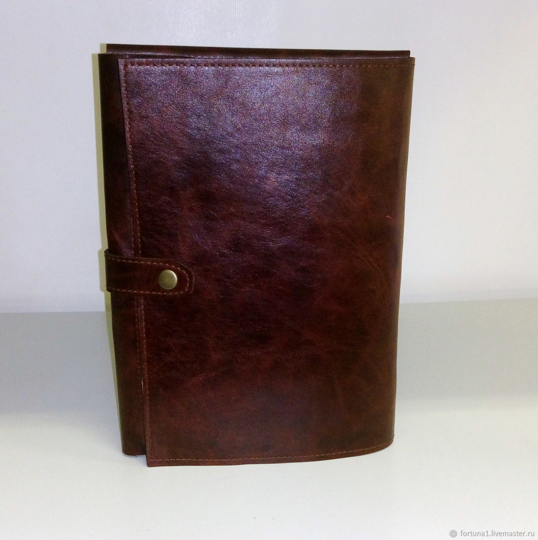 Folder leather 183 p, Case, St. Petersburg,  Фото №1