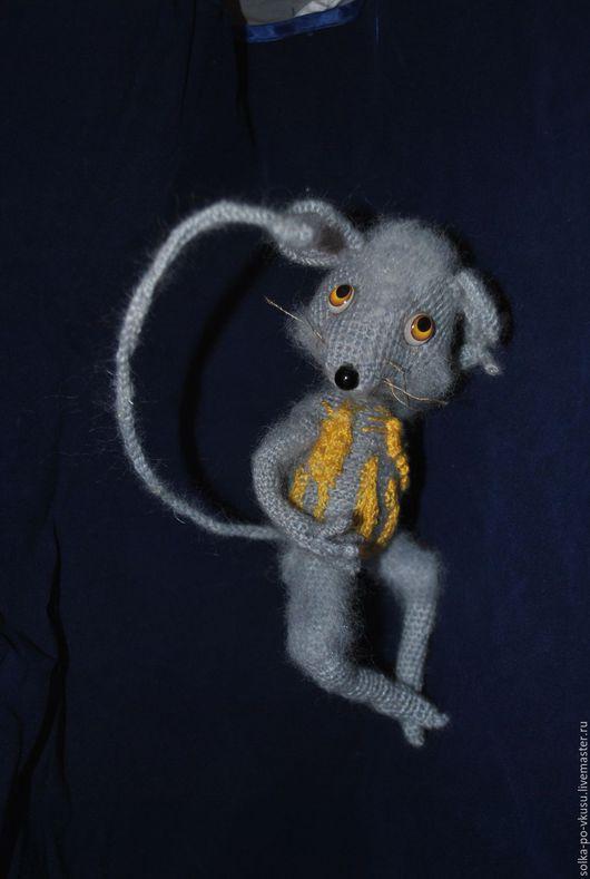 Куклы и игрушки ручной работы. Ярмарка Мастеров - ручная работа. Купить Поль Лёвка - полевой мыш. Handmade. Серый, мышонок
