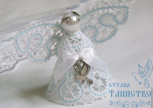 Подарки для новорожденных, ручной работы. Ярмарка Мастеров - ручная работа. Купить Ангелочек в подарок - на рождение ребёнка, крещение, венчание 1. Handmade.