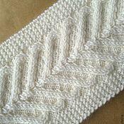 Аксессуары ручной работы. Ярмарка Мастеров - ручная работа Вязаная повязка из 100% шерсти. Handmade.