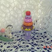 Куклы и игрушки ручной работы. Ярмарка Мастеров - ручная работа Пирамидка  деревянная.. Handmade.