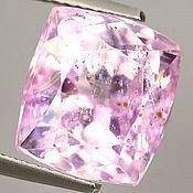 Кунцит розовый натуральный, огранка кушон,10.56 карат, JF800698