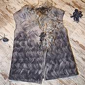 """Одежда ручной работы. Ярмарка Мастеров - ручная работа """"Подружка Етти"""" жилет. Handmade."""