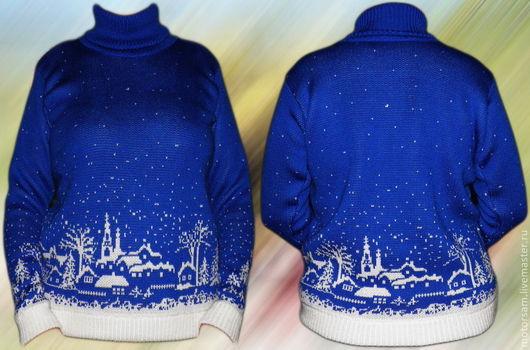 Тату-свитер - Зимняя ночь (вариант - базовый)