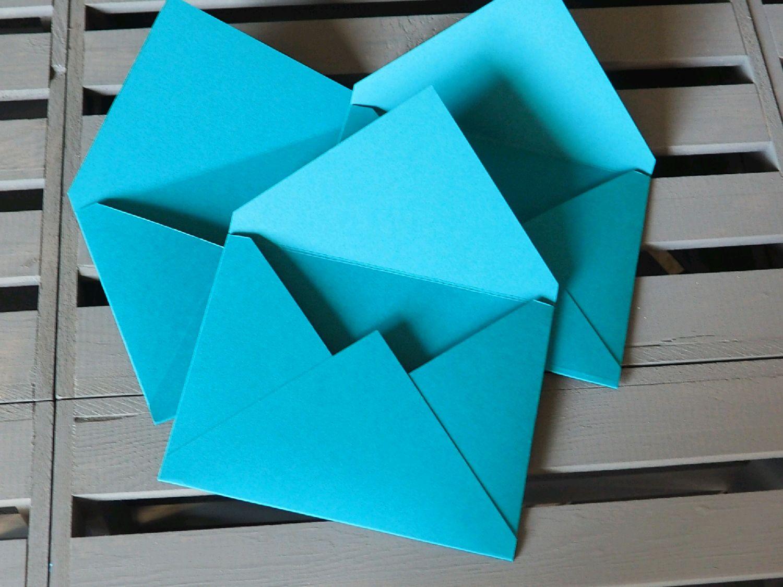 Квадратный конверт 150х150 мм для открыток 58