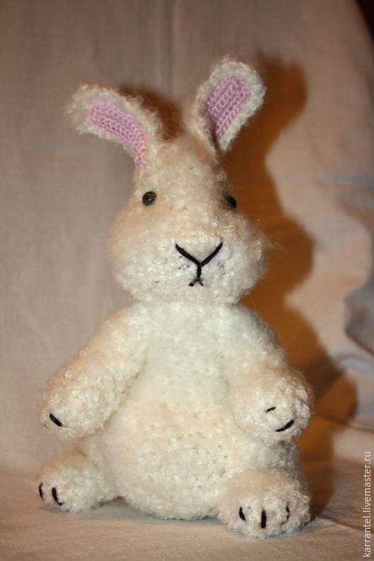 Игрушки животные, ручной работы. Ярмарка Мастеров - ручная работа. Купить Белый кролик. Handmade. Белый, игрушка крючком