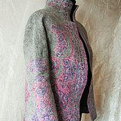 Одежда ручной работы. Ярмарка Мастеров - ручная работа Жакет валяный. Handmade.