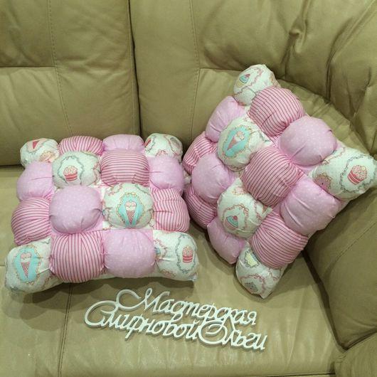 Детская ручной работы. Ярмарка Мастеров - ручная работа. Купить Бомбон подушка. Handmade. Бомбон, подарок, бомбон одеяло