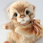 Куклы и игрушки ручной работы. Ярмарка Мастеров - ручная работа Тайлер Тедди котик. Handmade.