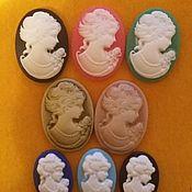 Материалы для творчества handmade. Livemaster - original item Cameo oval (small). Handmade.