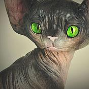 Для дома и интерьера handmade. Livemaster - original item Hamlet, kitten Sphinx. Handmade.