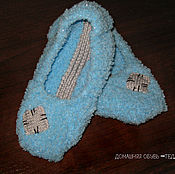 """Обувь ручной работы. Ярмарка Мастеров - ручная работа Домашняя обувь """"Тедди"""". Handmade."""